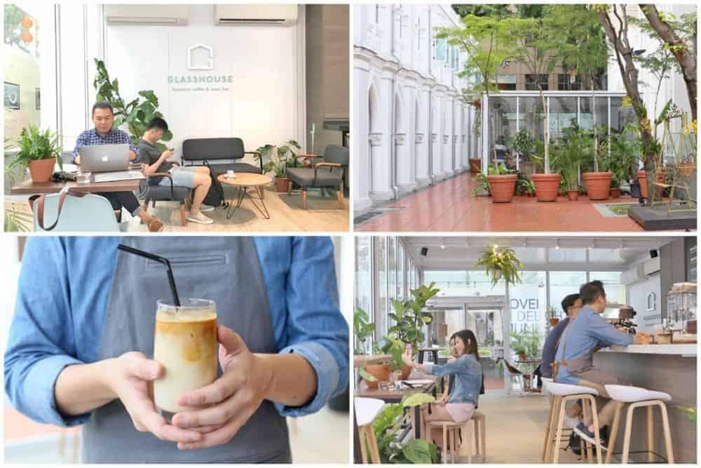 Quán cafe ở Singapore