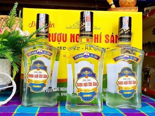Rượu ngô - Món ngon Hà Giang