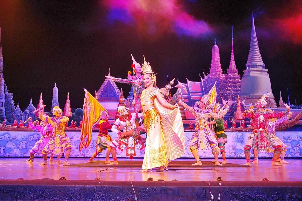 thành phố Pattaya ban đêm