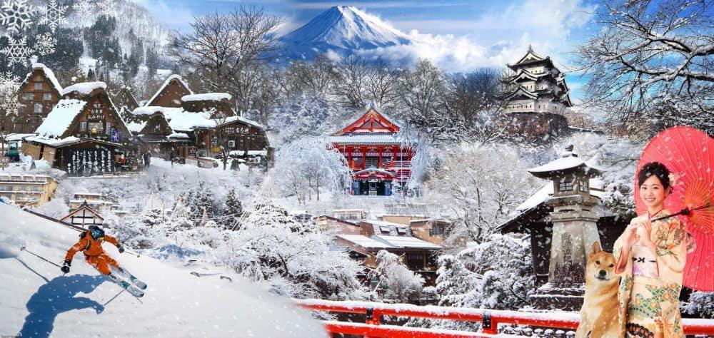 Mùa đông ở Nhật