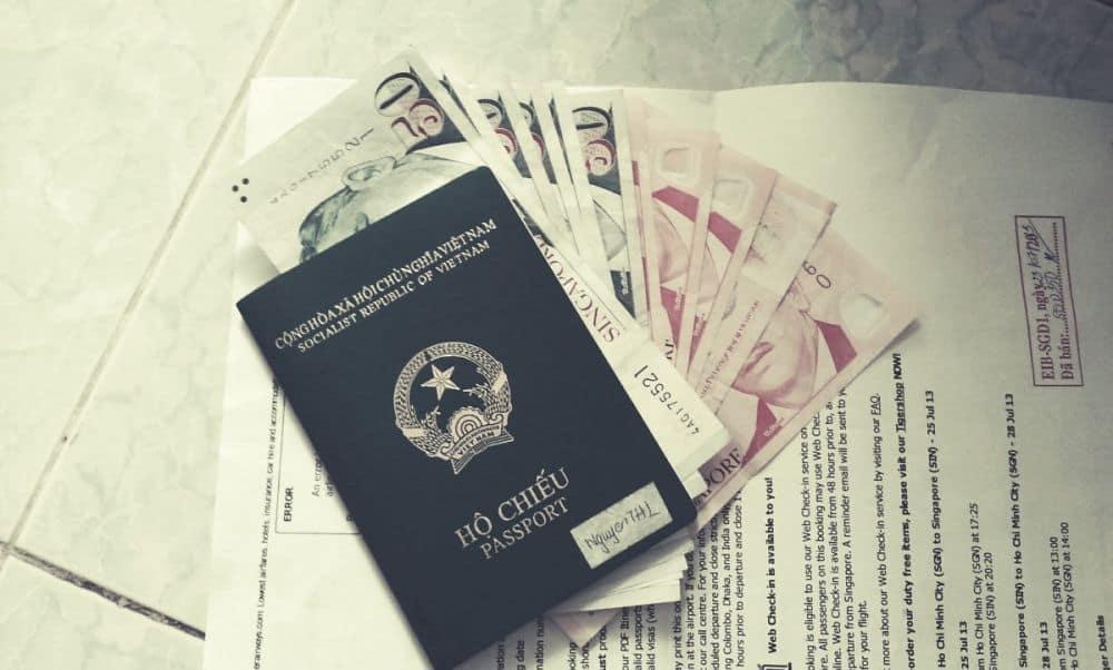 Chuẩn bị visa Trung Quốc