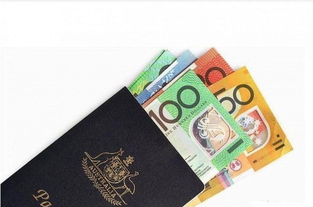 chứng minh tài chính du lịch Úc