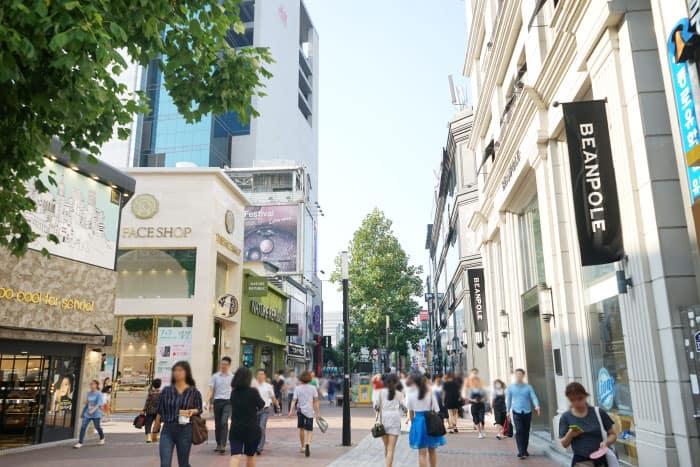 Một góc phố Dongseongno