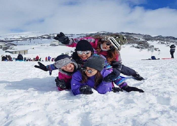 Các hoạt động hấp dẫn diễn ra vào mùa đông nước Úc