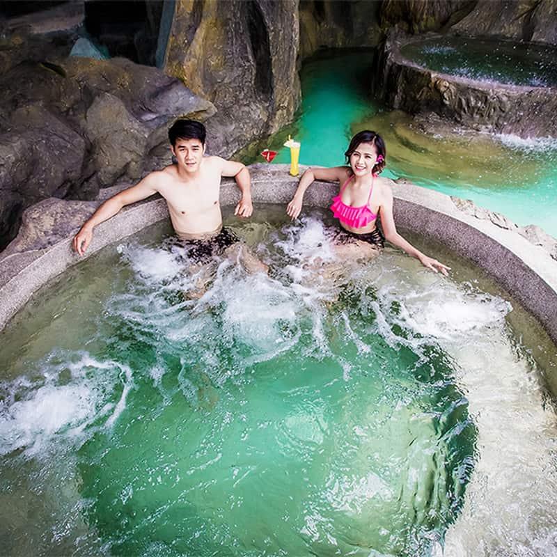 Khu tắm bùn khoáng Galina