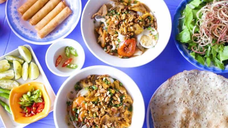 quán ăn đường Lê Thanh Nghị Đà Nẵng