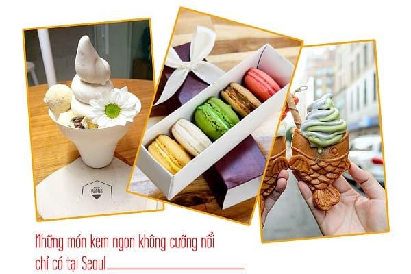 Những món kem chỉ có ở Seoul Hàn Quốc