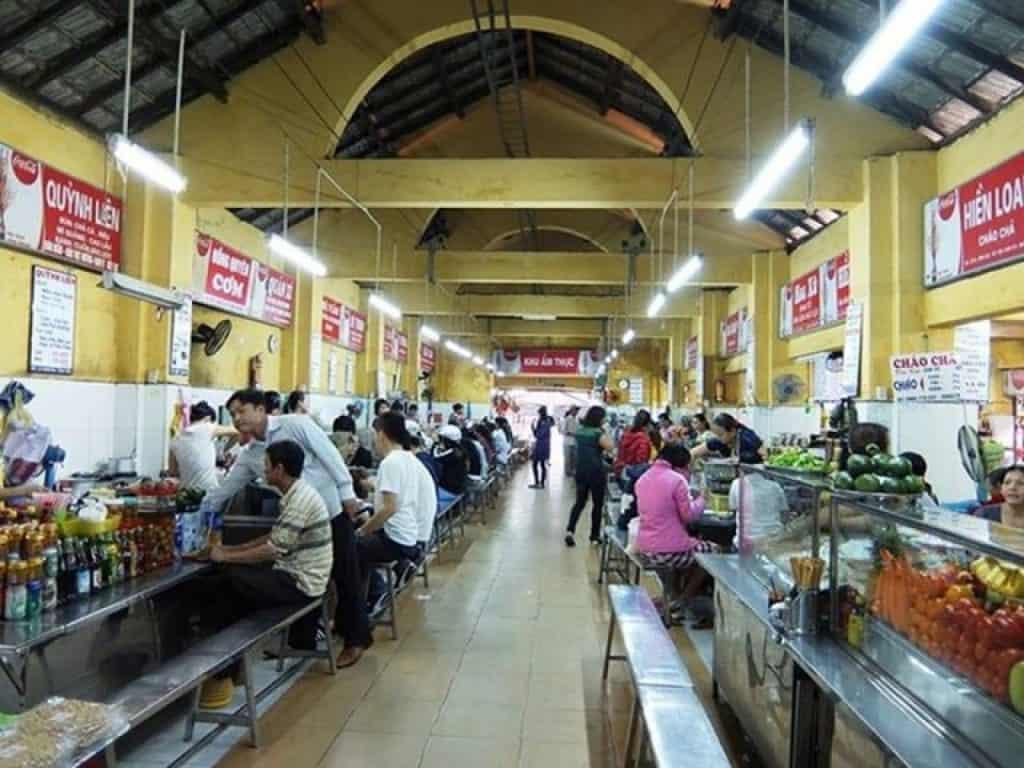 Food Court - Khu ẩm thực Chợ Cồn ở trong nhà