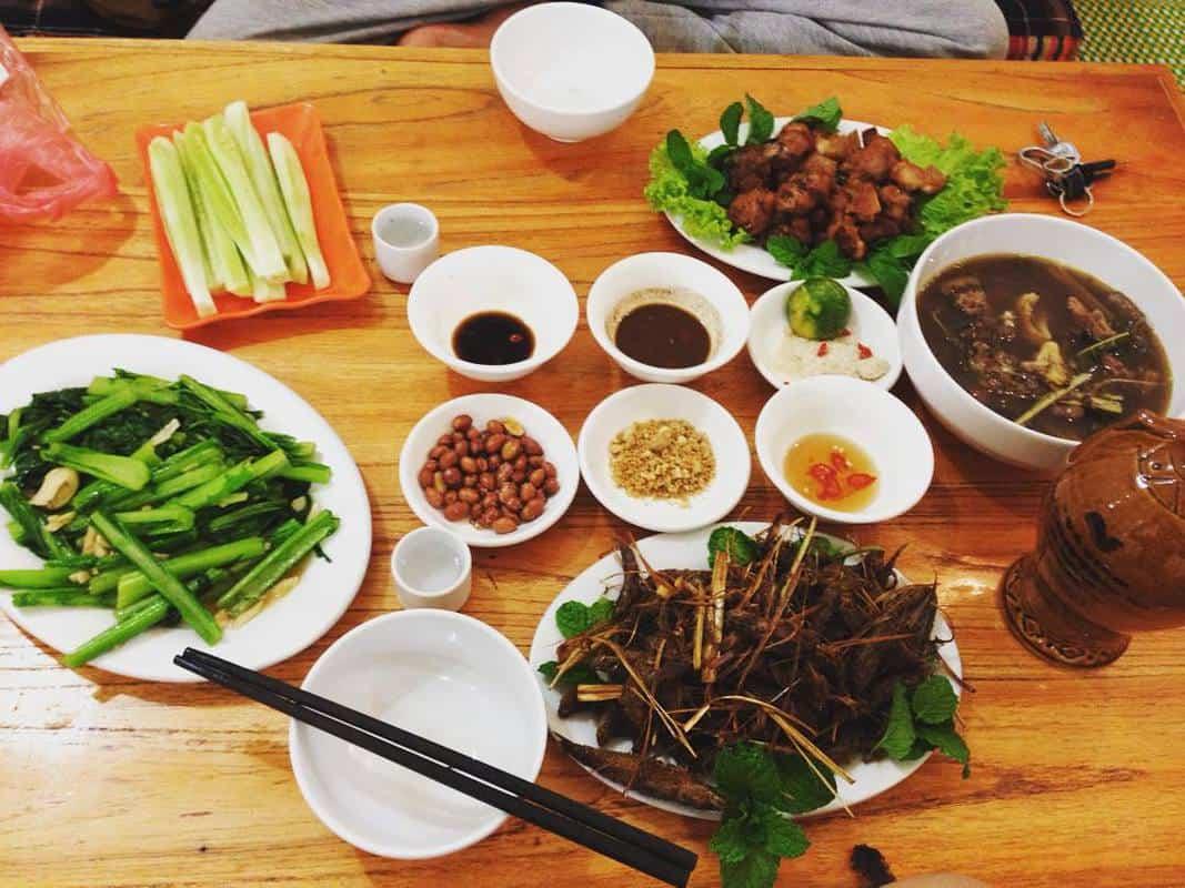 ẩm thực ở Mộc Châu