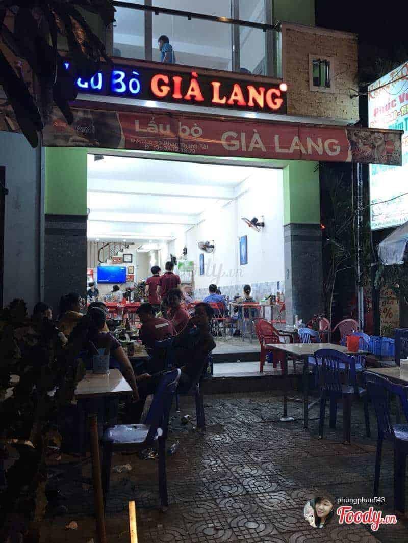 Lẩu bò Già Lang Đà Nẵng