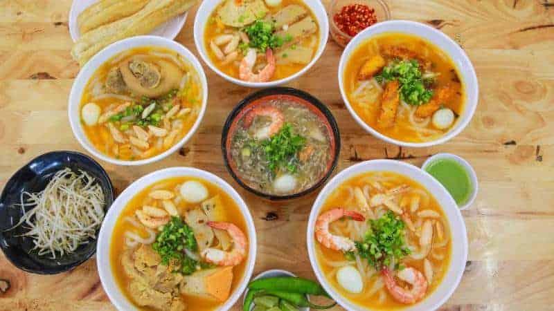 Quán ăn tối bình dân ở Đà Nẵng