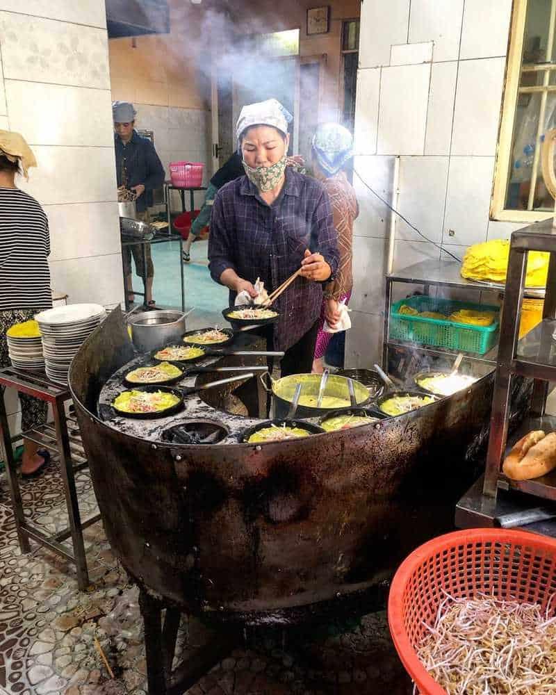 Bánh xèo miền trung tại Đà Nẵng
