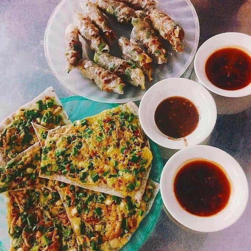 Ăn vặt món bánh tráng kẹp nướng ngon tại Đà Nẵng
