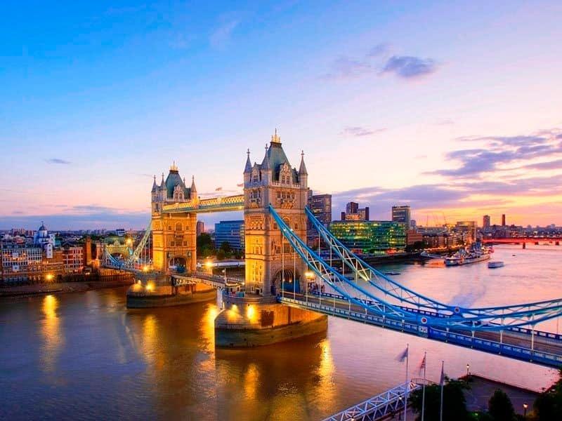 địa điểm du lịch ở Anh