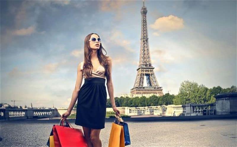 trung tâm mua sắm ở Paris