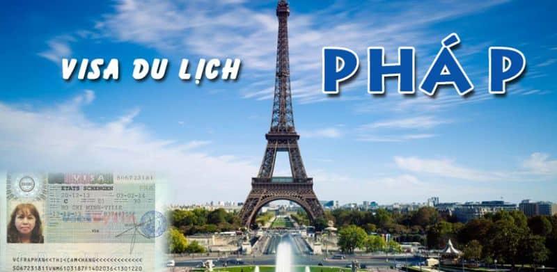xin visa du lịch Pháp
