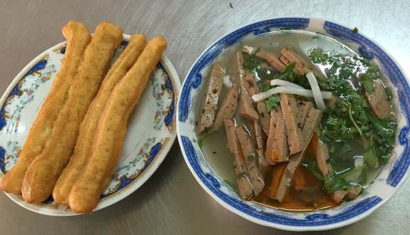 bánh canh cá lóc Thanh Hương