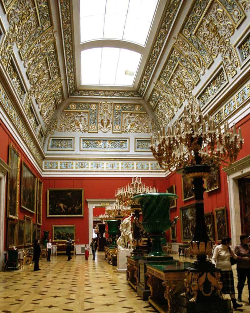 Khám phá bảo tàng Ermitazh