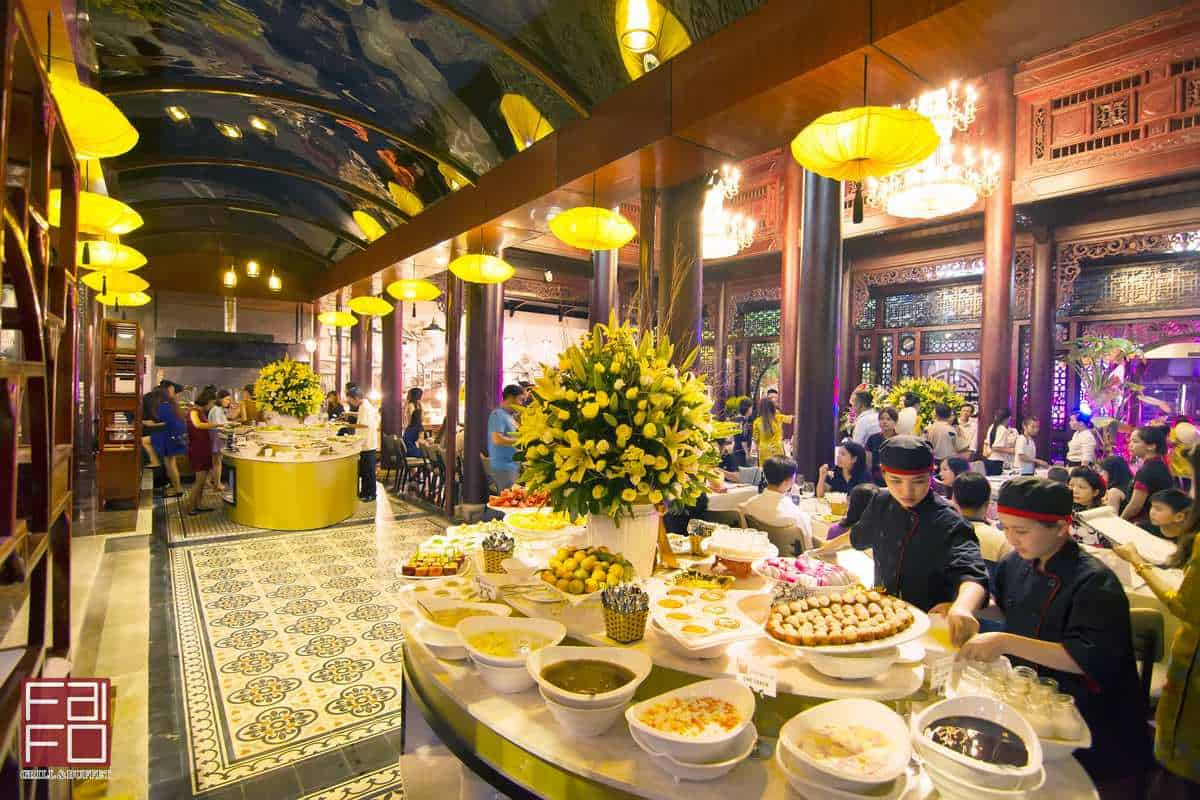 Faifo Grill & Buffet Restaurant buffet hải sản đà nẵng