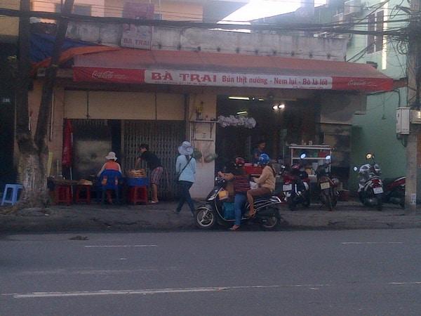 Bún thịt nướng bà Trai nổi tiếng tại Đà Nẵng