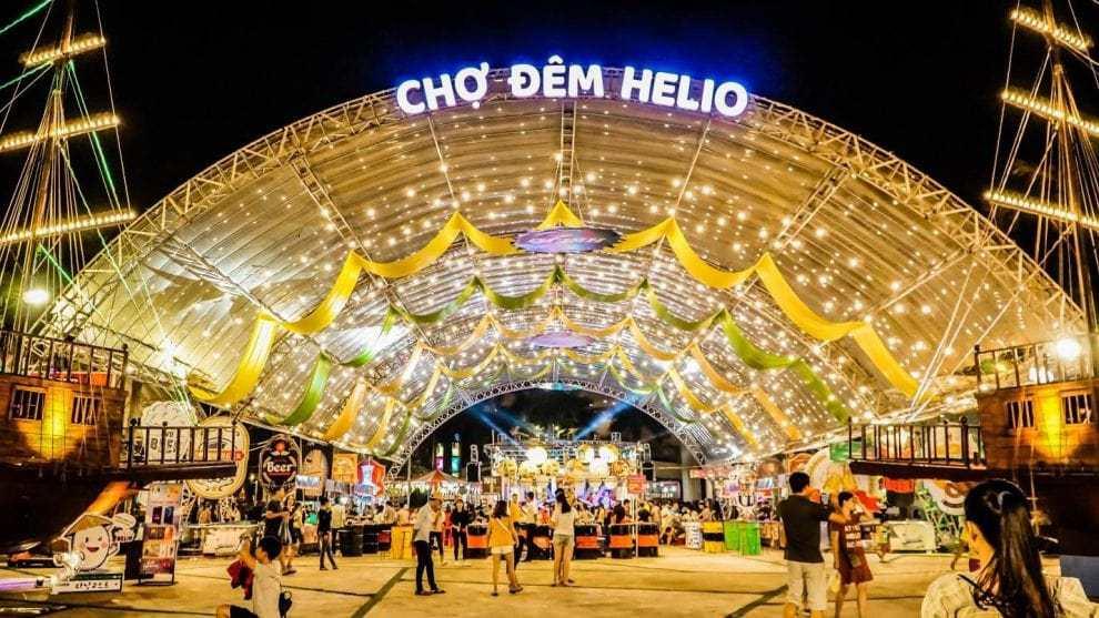 Chợ ẩm thực đêm Helio Đà Nẵng