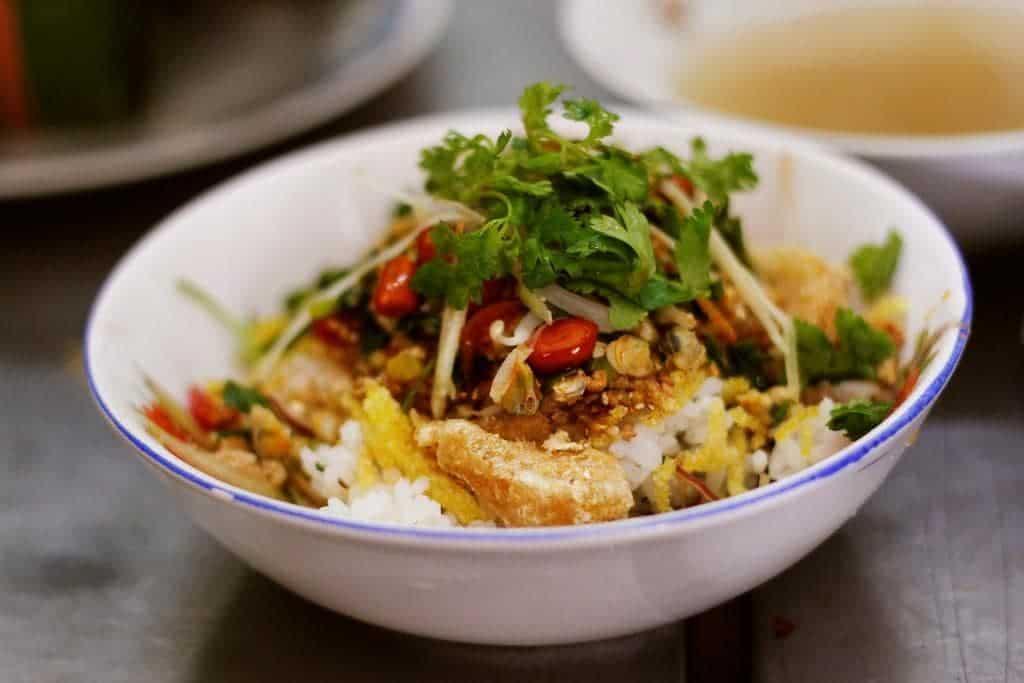 cơm hến Bếp Cúc ở Đà Nẵng