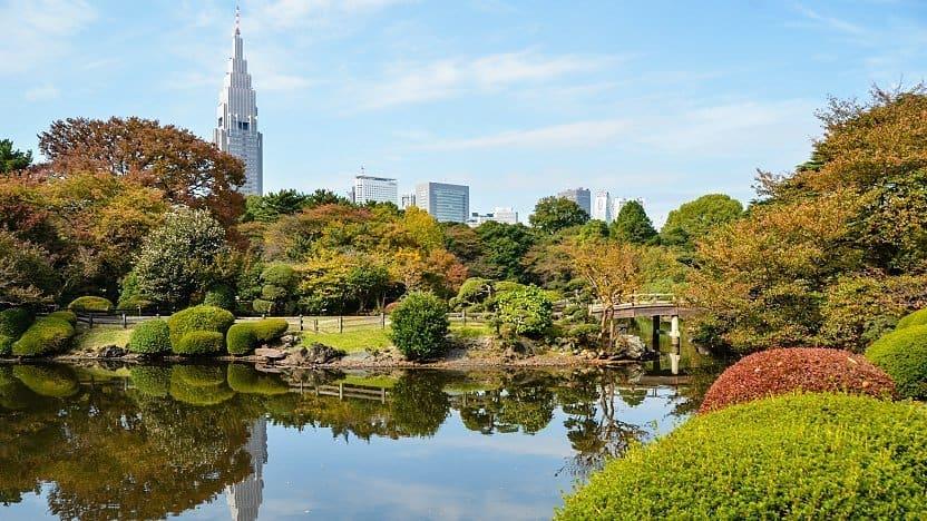 công viên Nhật Bản ở đâu