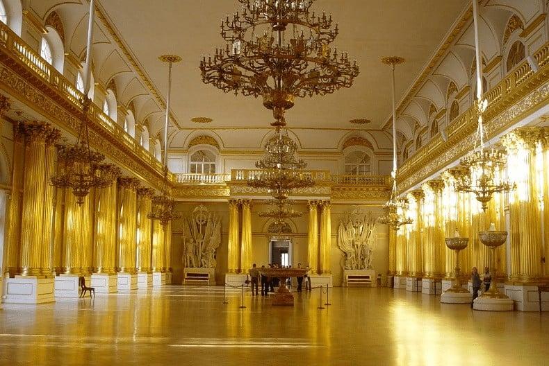 cung điện mùa hè của nga
