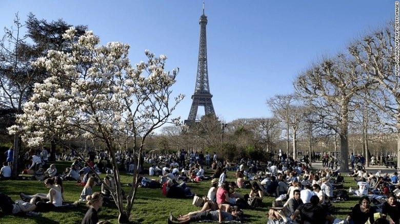 đi du lịch Pháp theo tour