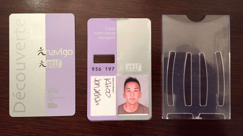Navigo card