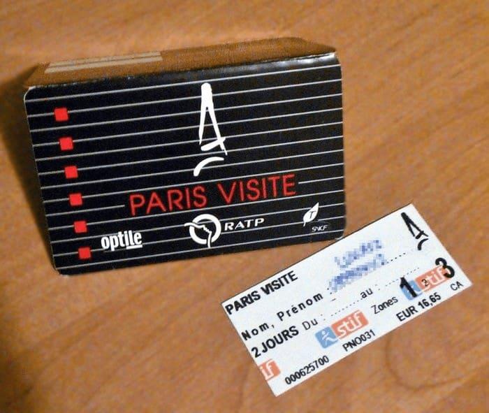 Vé Paris Visite