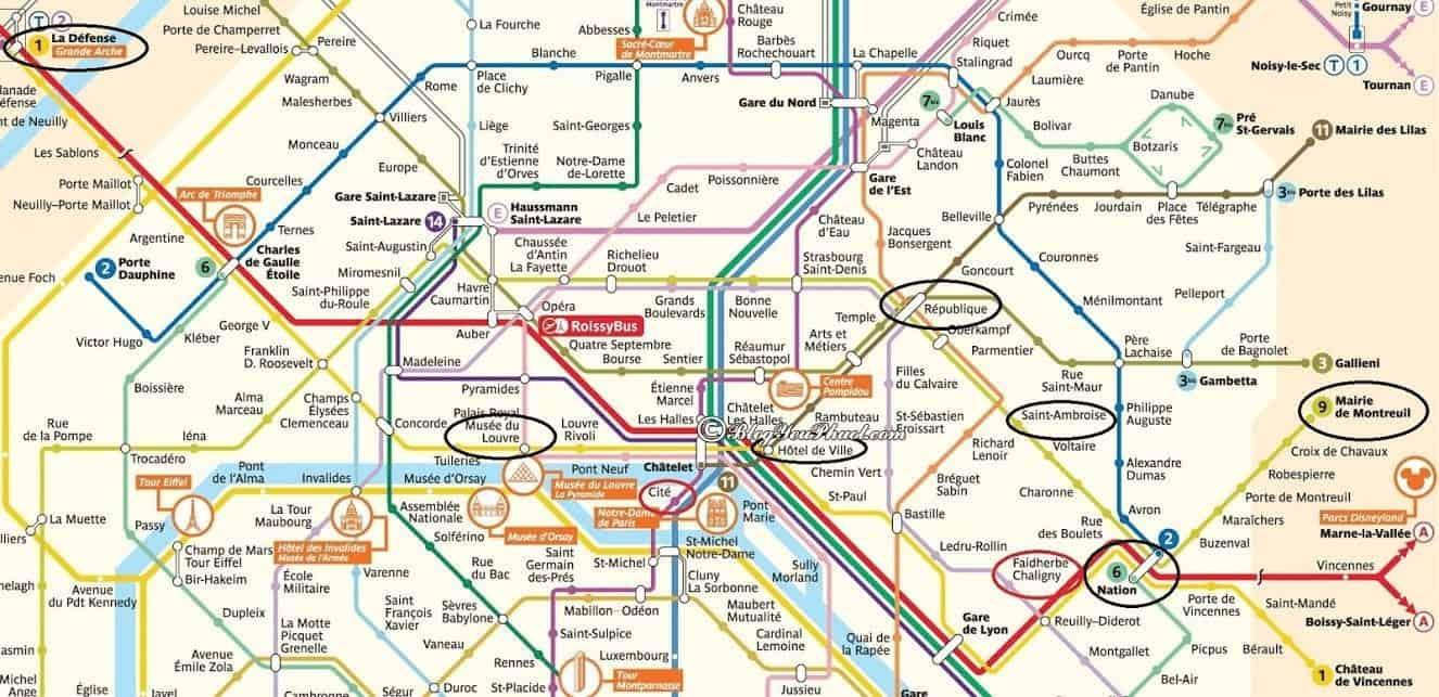 Phân vùng phương tiện giao thông tại Pháp