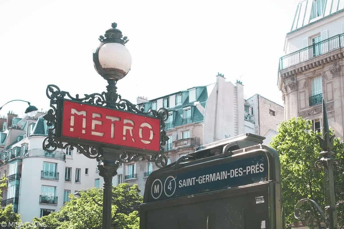 Tàu điện ngầm (metro) luôn là sự lựa chọn đầu tiên khi du lịch Paris
