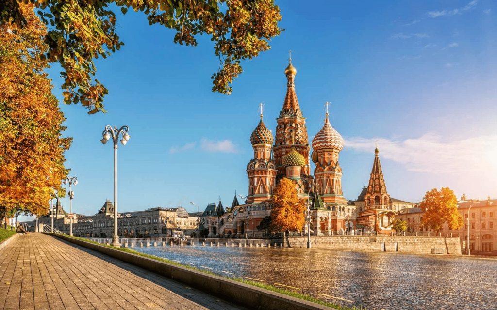 Những đường bay phổ biến từ Việt Nam đi Nga