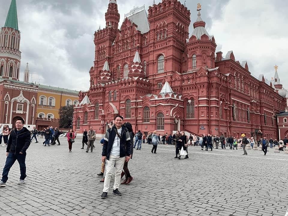 địa điểm du lịch Nga