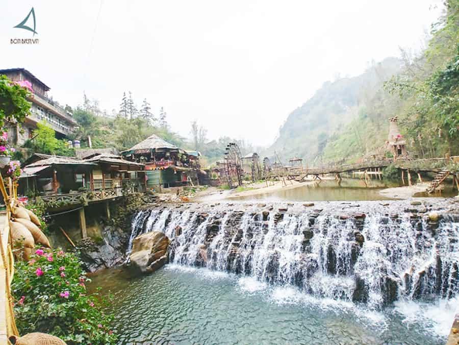 Thác Tiên Sa - Một trong những điểm du lịch đẹp ở Sapa