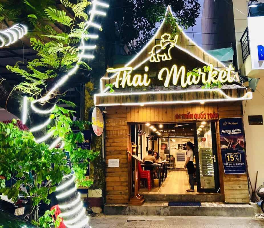 Chuỗi đồ ăn Thái Market tại Đà Nẵng