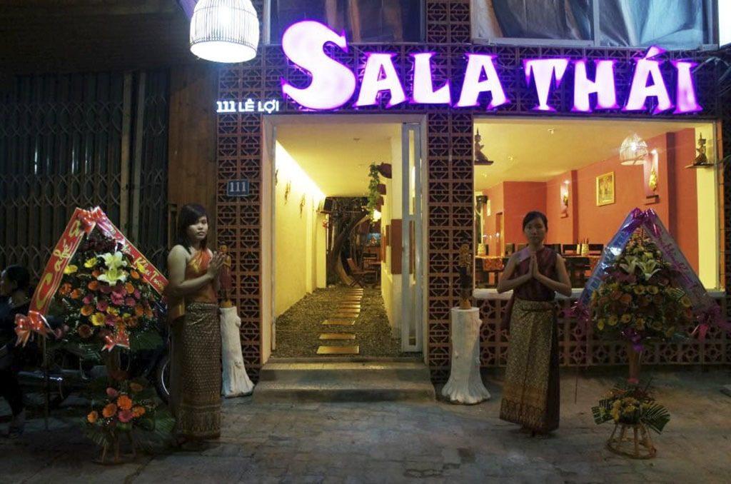 nhà hàng đồ Thái