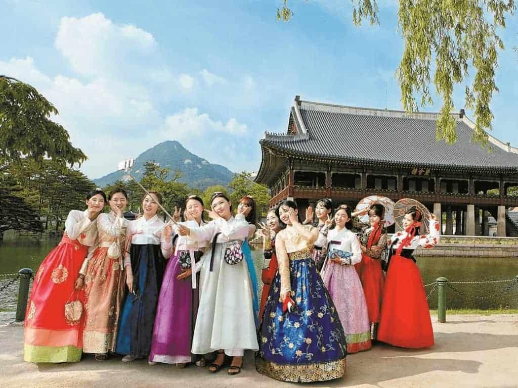 Du lịch bụi Hàn Quốc