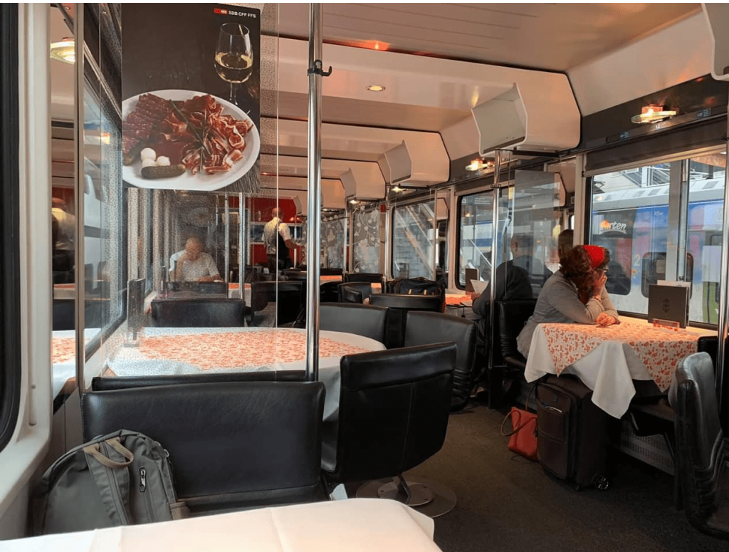 cách di chuyển bằng tàu hỏa khi du lịch châu Âu