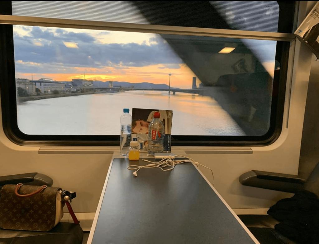 du lịch Châu Âu bằng tàu hỏa