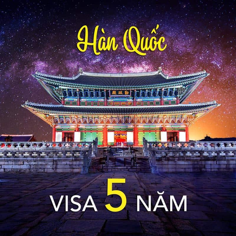 đi du lịch hàn quốc có cần visa