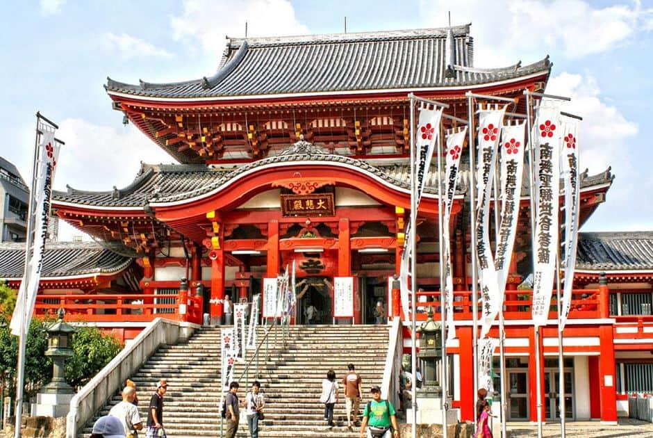 Oso Kannon - Khu mua sắm và đền thờ Lively