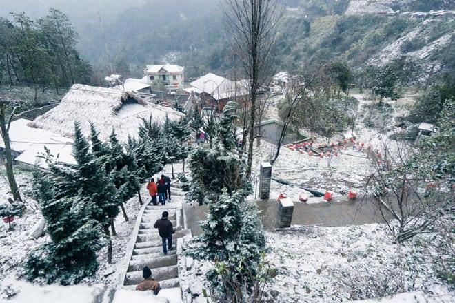 Mùa đông ở Sapa