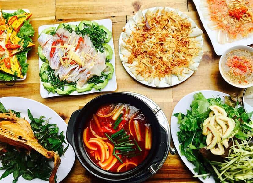 Gỏi cá Nam Ô ngon tại Đà Nẵng