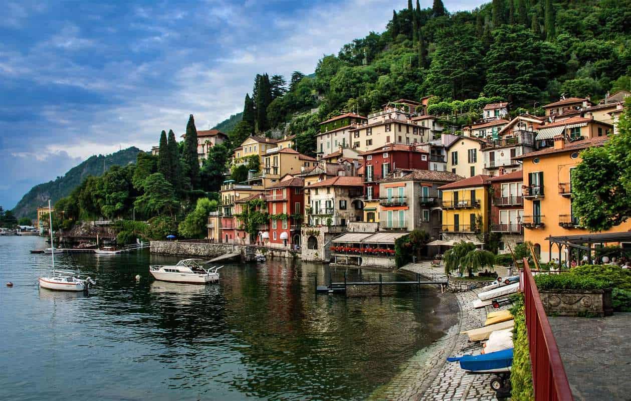 Hồ Como Italy,