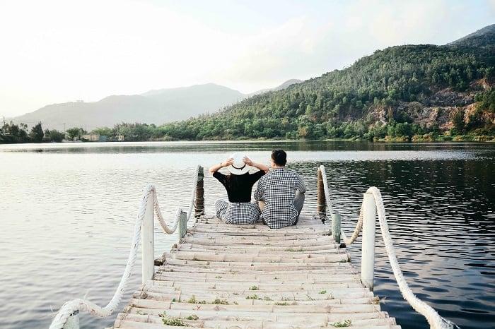 Hồ Xanh - địa điểm sống ảo chất lừ