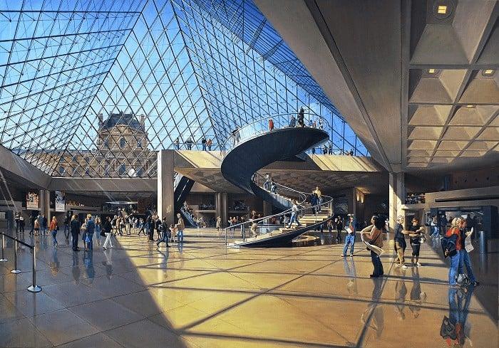Kiến trúc bảo tàng Louvre