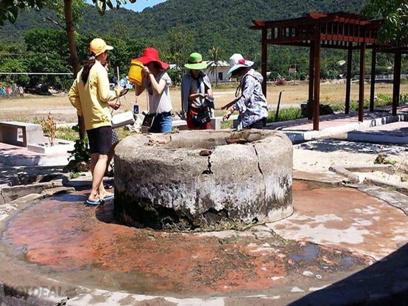 Giếng nước cổ ở Cù Lao Chàm