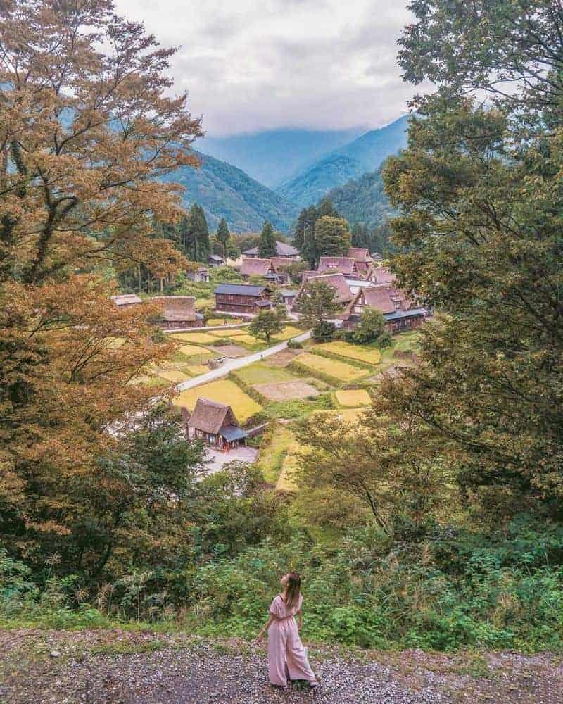 Làng cổ ở Nhật